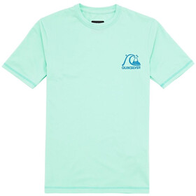 Quiksilver Heritage Surf Tee Heren, beach glass